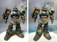 MS-06S ザク2 ウッドランドカモ