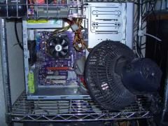 PC用大型高速冷却機