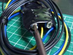 LEDダミーセキュリティー(W-CLICK)TYPEφ5mm-キーオフ連動- P3