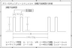 LEDダミーセキュリティー(W-CLICK)TYPEφ5mm-キーオフ連動- P7