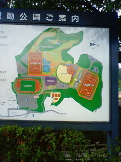 女川運動公園MAP