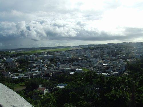 嘉数高台公園からの眺め