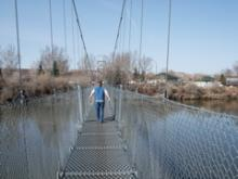 のんびりらいふ@かなだ-吊り橋