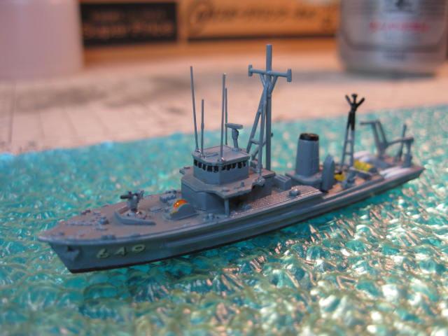 海上自衛隊掃海艇はつしま MSC649 の4