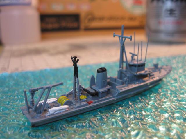 海上自衛隊掃海艇はつしま MSC649 の5
