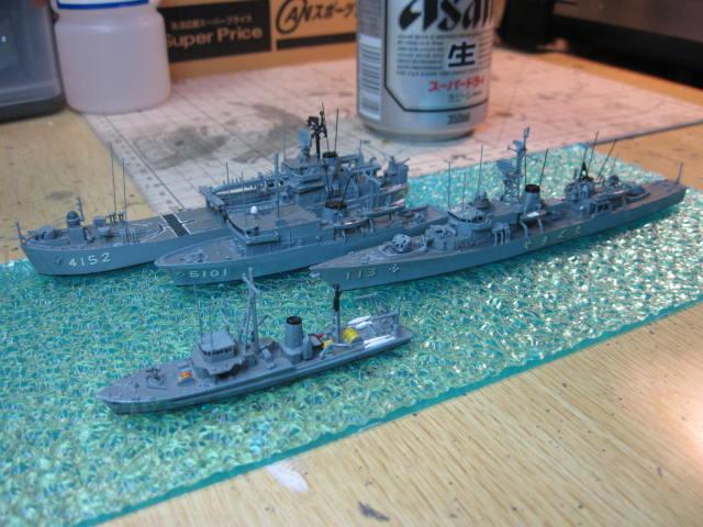 海上自衛隊掃海艇はつしま MSC649 の6