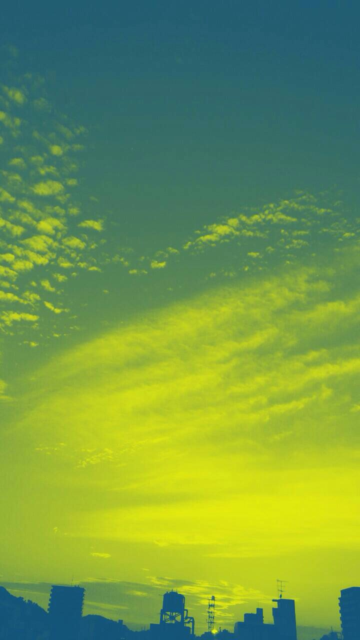 ミーママ撮影の夏が終わりを告げた空と太陽9