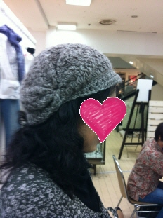 Kさん 2011 帽子