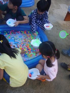 幼稚園夏祭り2