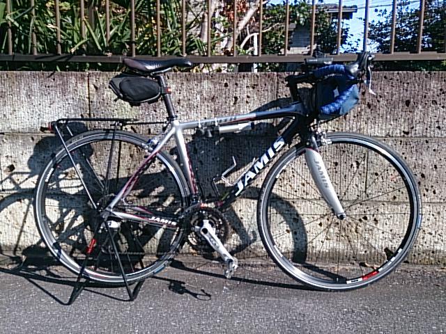 自転車の 自転車 旅 クロス ロード : 自転車改造完成| <自転車 ...