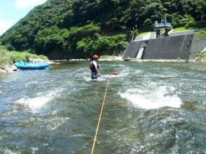 2011.07.10保津川トレーニング 013a