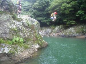 2011.07.18保津川ラフティング 266a