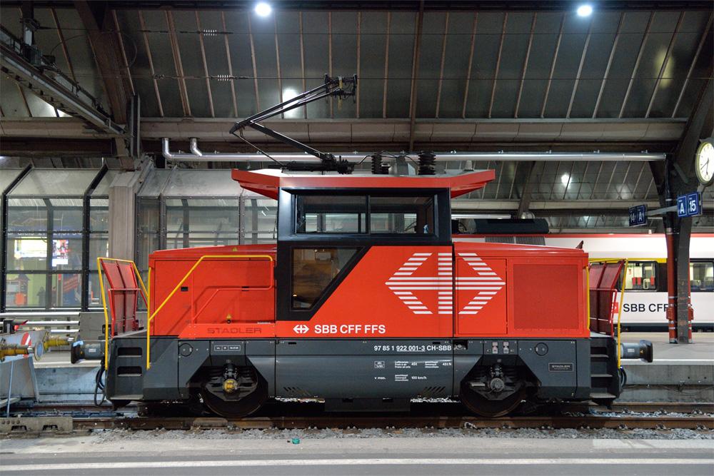 チューリッヒ中央駅の入れ替え機