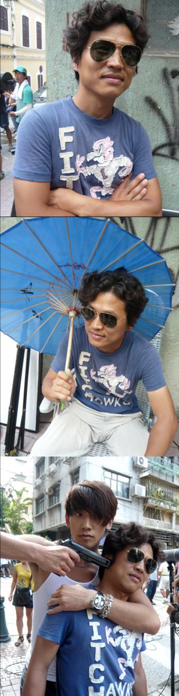 100828 Rain  Director-Macau