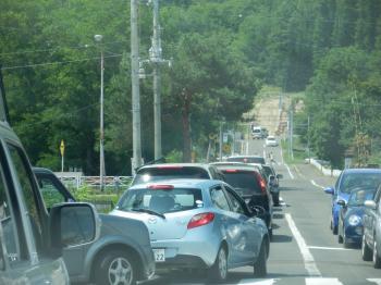 ファーム富田渋滞
