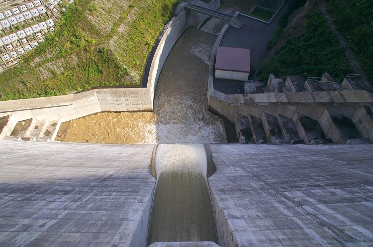 太田川ダムとかわせみ湖