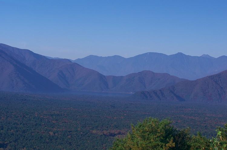 紅葉台からの富士秋景 2