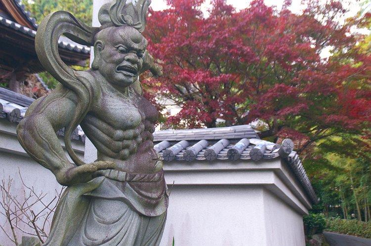 法泉寺の秋 一