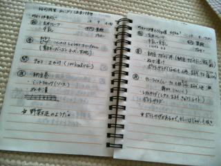 レコーディング・ダイエット用メモ帳