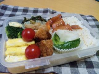 2010/10/28のお弁当