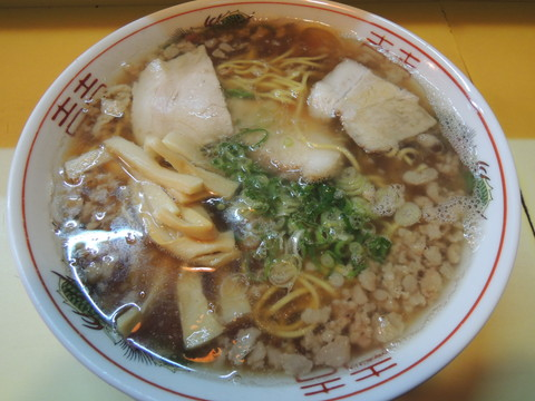 中華そば(並)(550円)