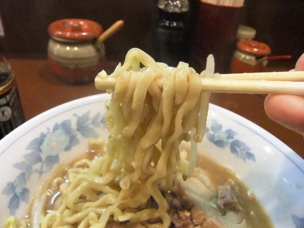 らーめん 陸:麺2 12.02.26