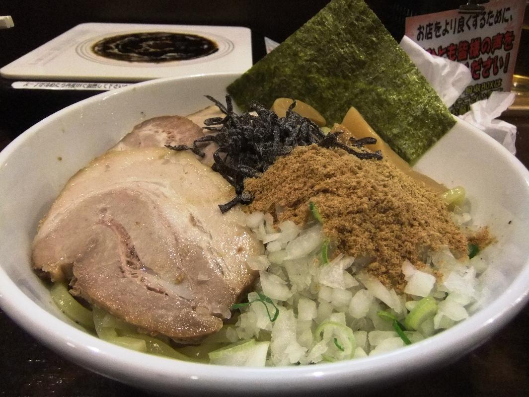 つけめん あびすけ 元住吉店:油そば(粉チーズ) 12.03.05