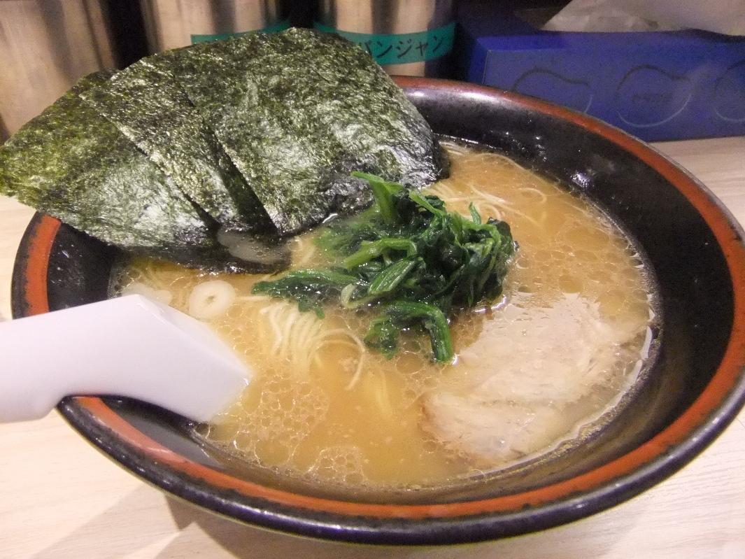 せい家 元住吉店:らーめん(細麺) 12.03.08