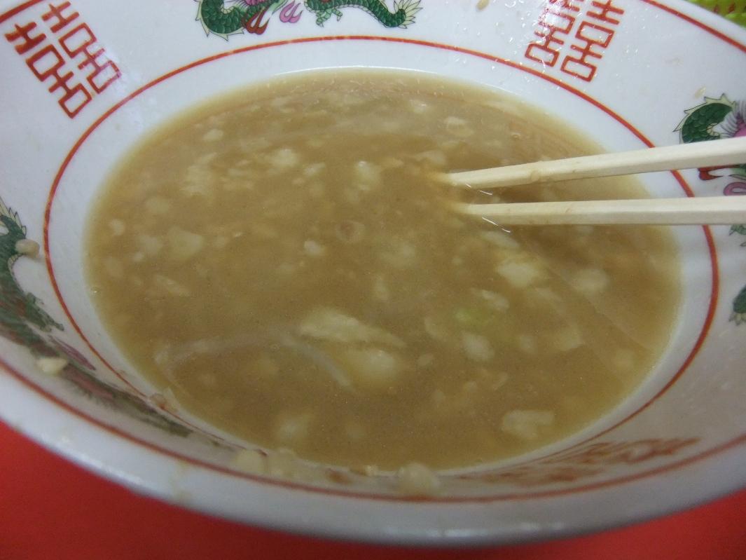 ラーメン二郎 仙台店:スープ 12.03.16