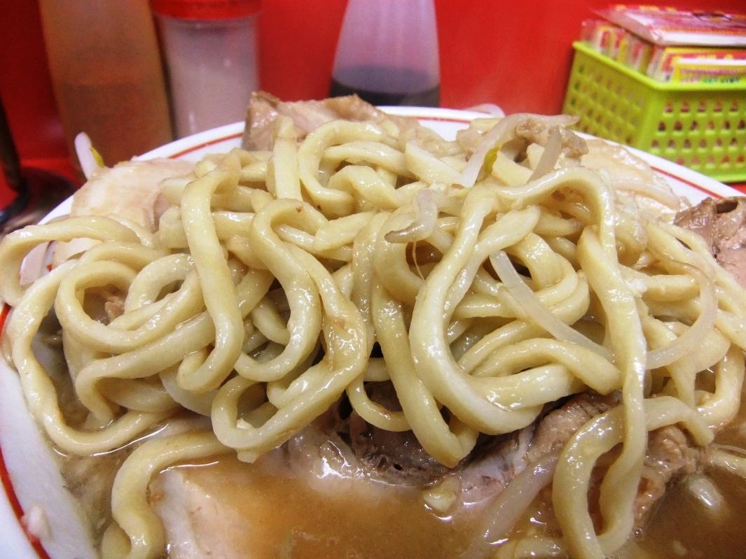 ラーメン二郎 仙台店:麺 12.03.16