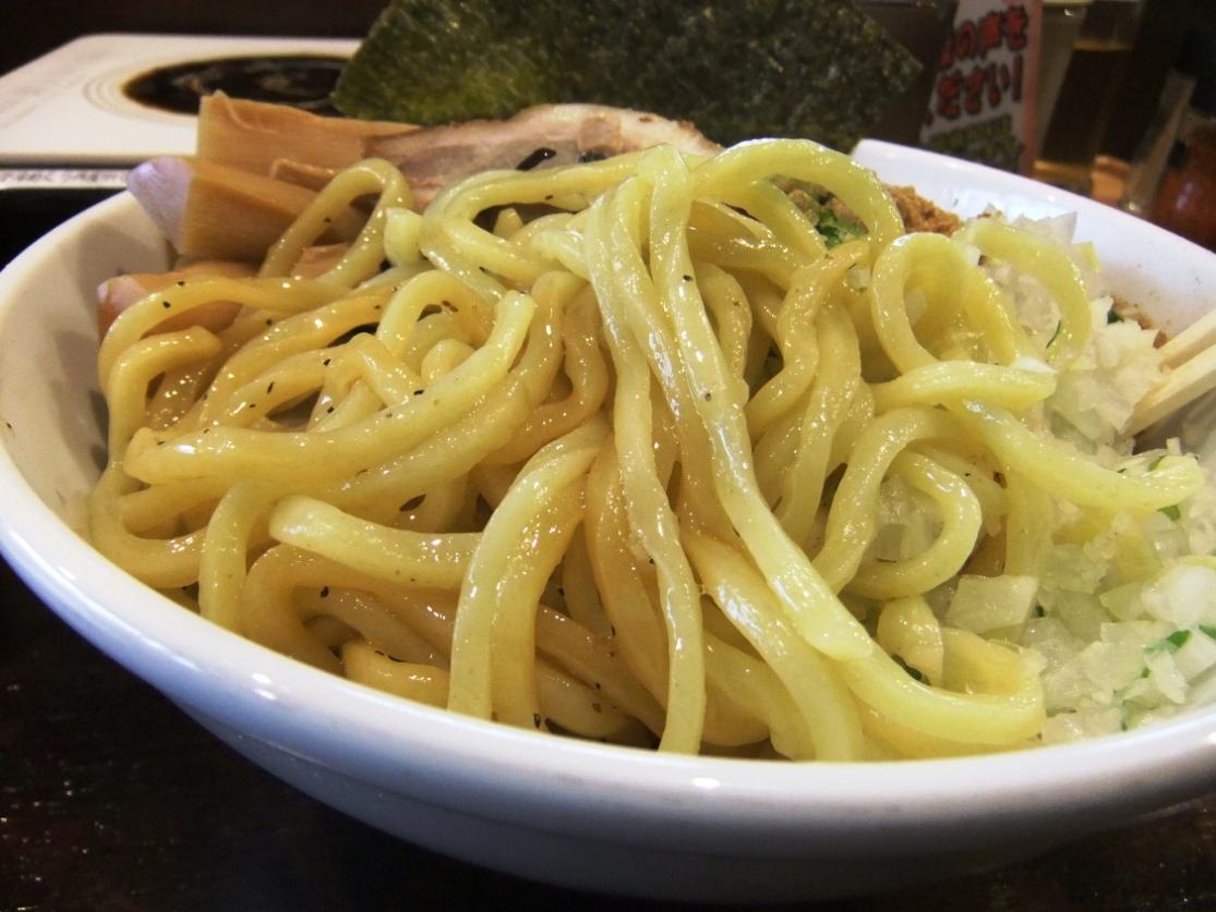 つけめん あびすけ 元住吉店:麺 12.03.31