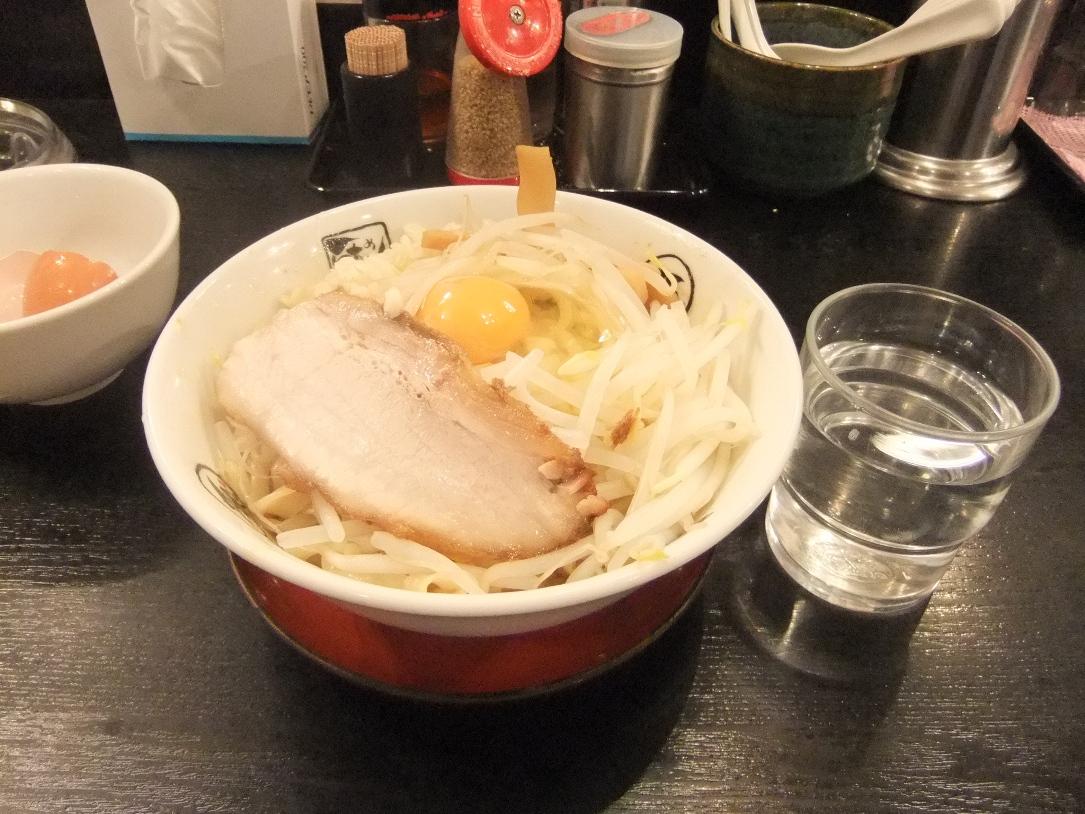 らぁめん大山 アトレ川崎店:駿河油そば2 12.06.21
