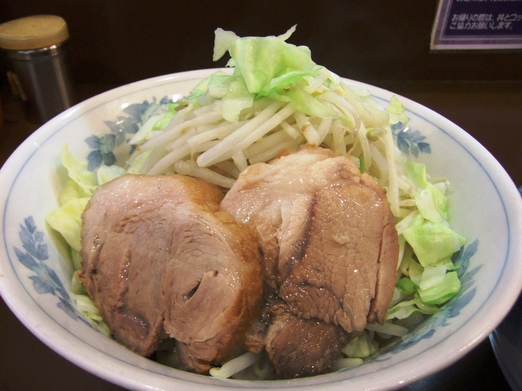 らーめん 陸:麺丼 12.07.27