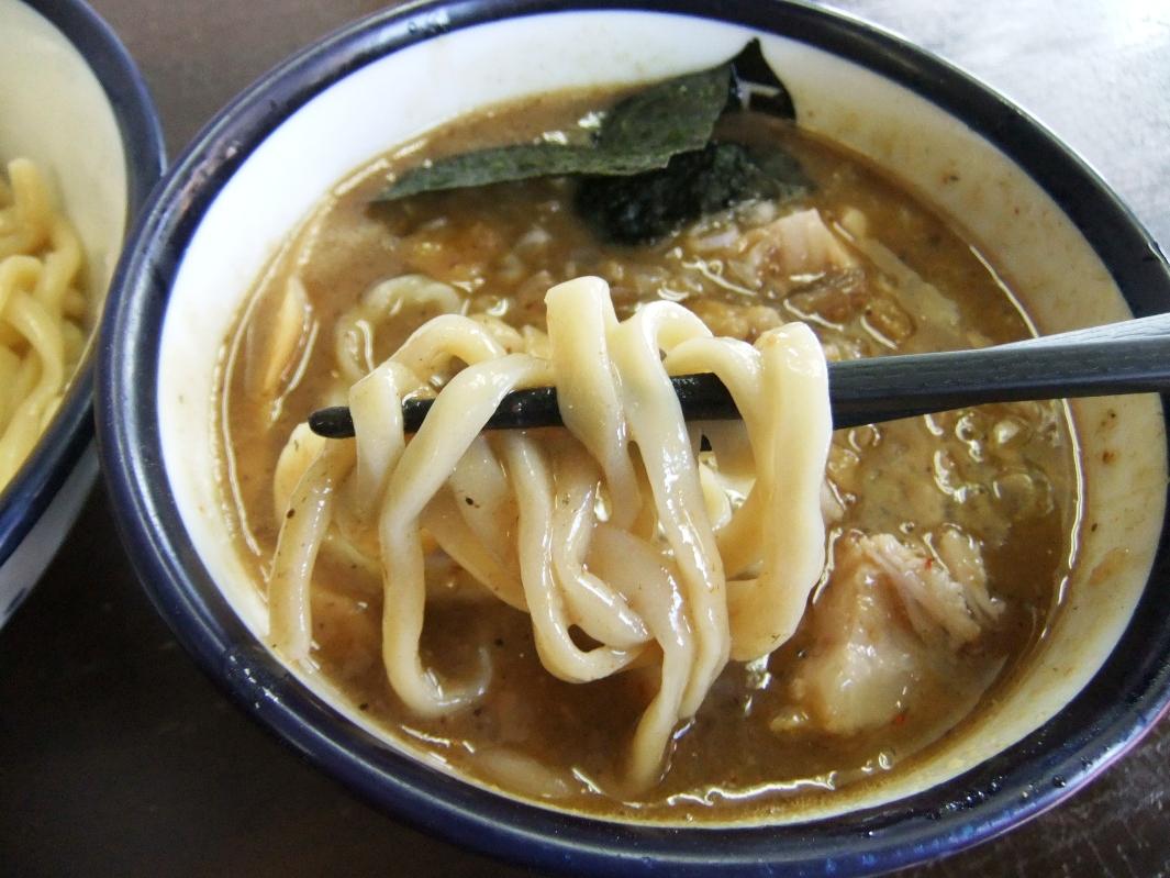 つけめん 玉:麺2 12.07.29