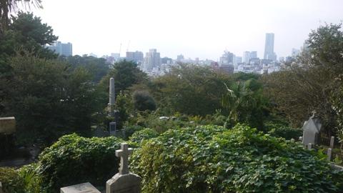 横浜 外国人墓地