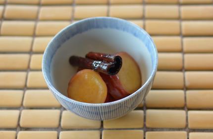 薩摩芋の蜂蜜煮