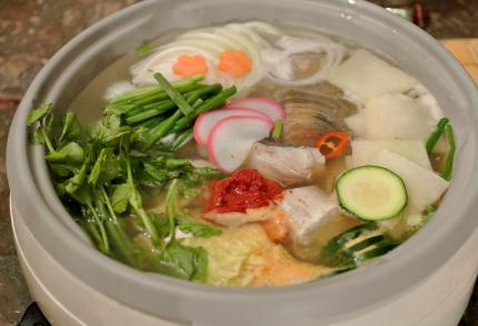 韓国の寄せ鍋