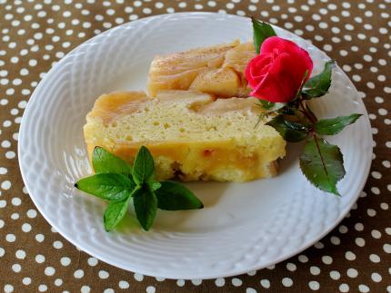 appleバウンドcake