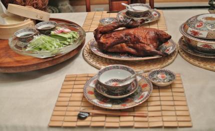 北京ダッグで夕飯