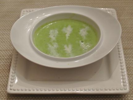 グリーンピースのsoup