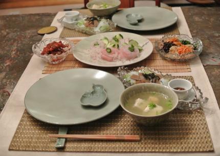 韓国料理で。。