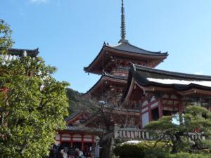 清水寺 三重の塔