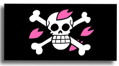 ヒルルクの海賊旗