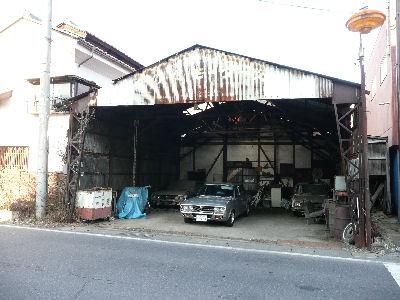 田舎の整備工場