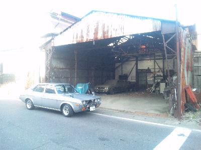 ルーチェとルーチェと自動車整備工場