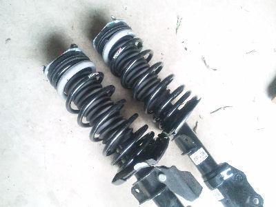 RS-Rのバネを組んだ、デミオのフロントストラット