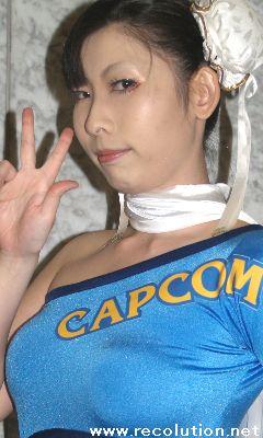 CAPCOM companion characters CHUN LI  Yae Akoda