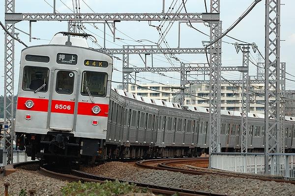 @長津田駅~つくし野駅間