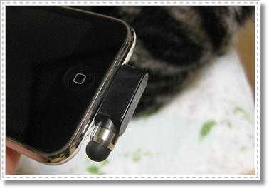 100均のiPhoneタッチペン