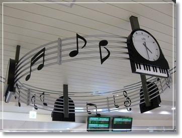 高崎駅の時計